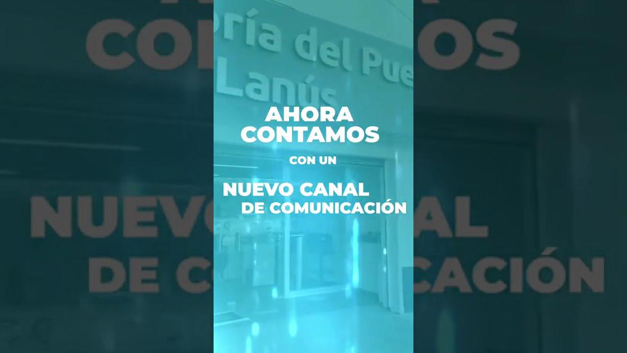 La Defensoría del Pueblo de Lanús suma un nuevo medio de comunicación con los Vecinos.
