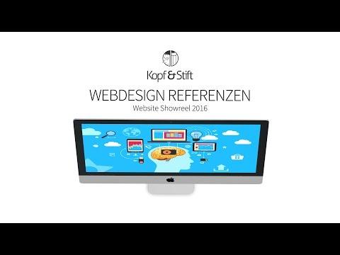 Webdesign Referenzen Showreel | Kopf & Stift Webagentur aus Dresden
