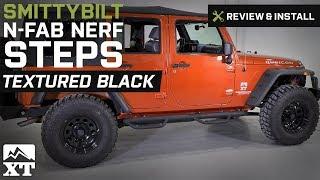 Smittybilt J0764-SS Nerf Step Bar