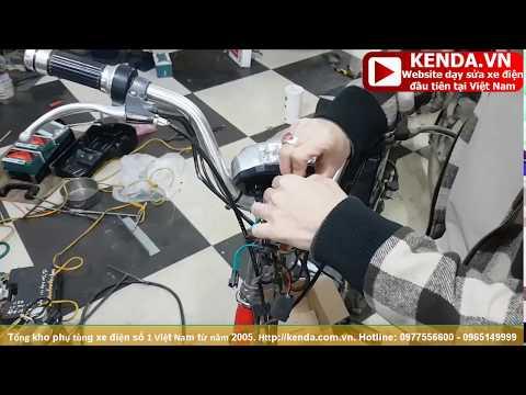 Hướng dẫn thay Đầu đèn xe đạp điện - Kỹ năng bắt đầu nghề sửa chữa xe điện tập 1