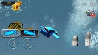 Floating Underwater Car Simulator