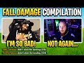 'When Pros Die to FALL DAMAGE' Fortnite Compilation!