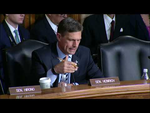 Heinrich Presses Interior Secretary Nominee On Chaco Canyon and LWCF