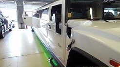 VIEW INSIDE A STRETCHED HUMMER LIMO!