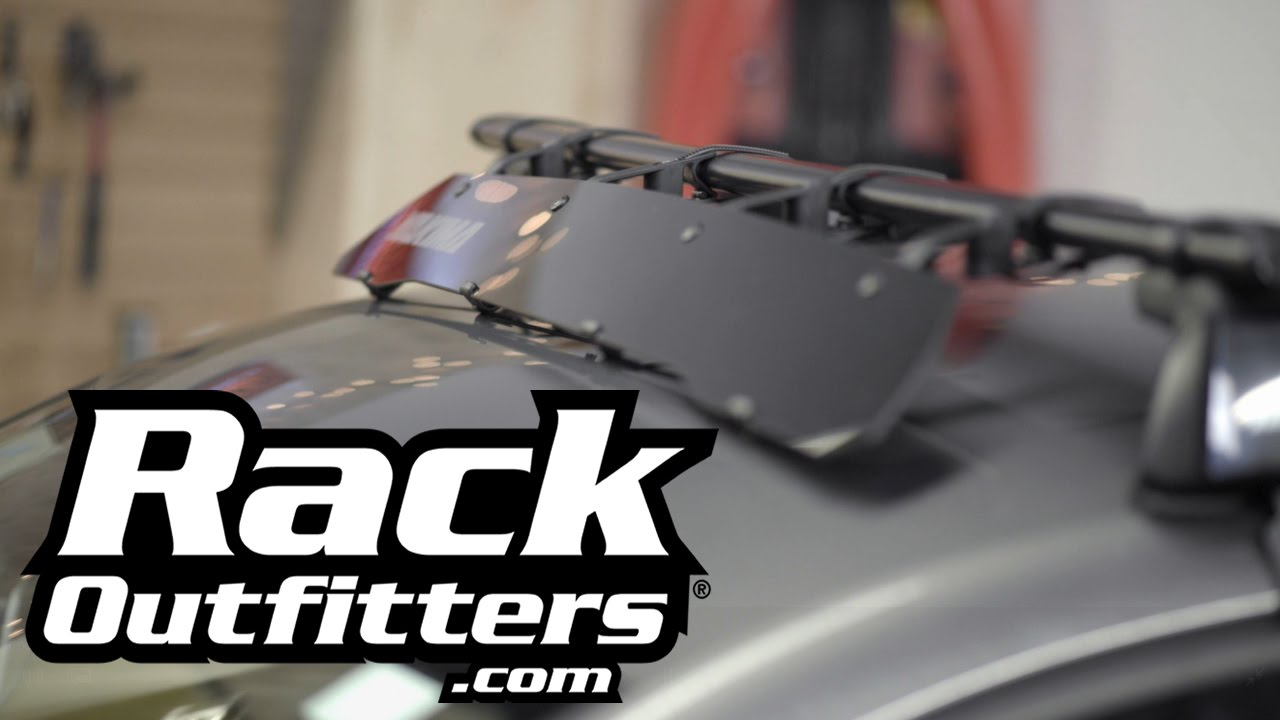 2016 Ford F350 >> Yakima Windshield Fairing Wind Deflector Presented by Rack Outfitters - YouTube
