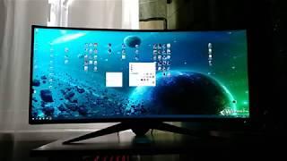 ноутбук Alienware 34 aw3418dw мерехтить 50-60 Гц