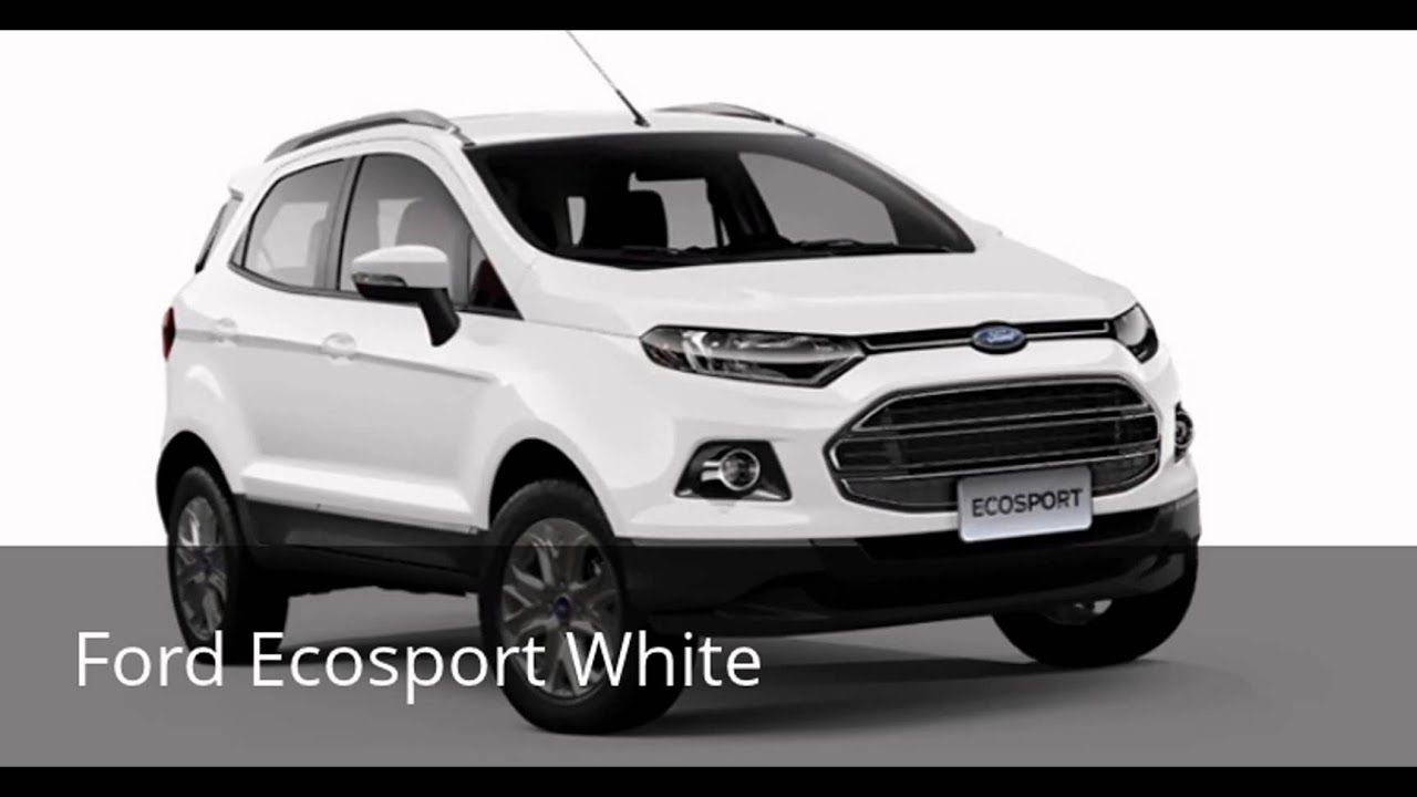 Ford Ecosportsel White