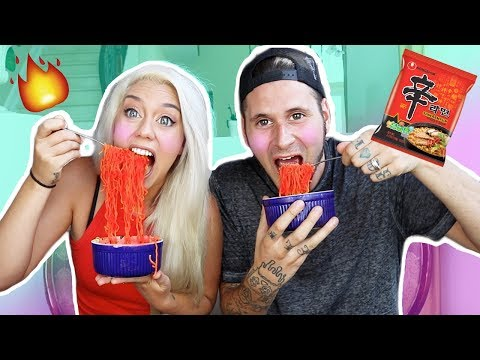 6X EXTREME SPICY RAMEN CHALLENGE! (WARNING EXTRME PAIN) | NICOLE SKYES