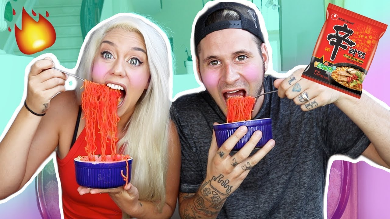 Download 6X EXTREME SPICY RAMEN CHALLENGE! (WARNING EXTRME PAIN)   NICOLE SKYES