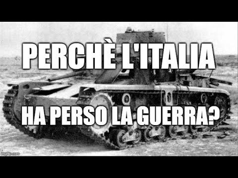 Perchè L'Italia Ha Perso La Guerra?