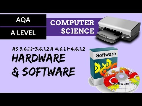 AQA' A'Level Hardware And Software