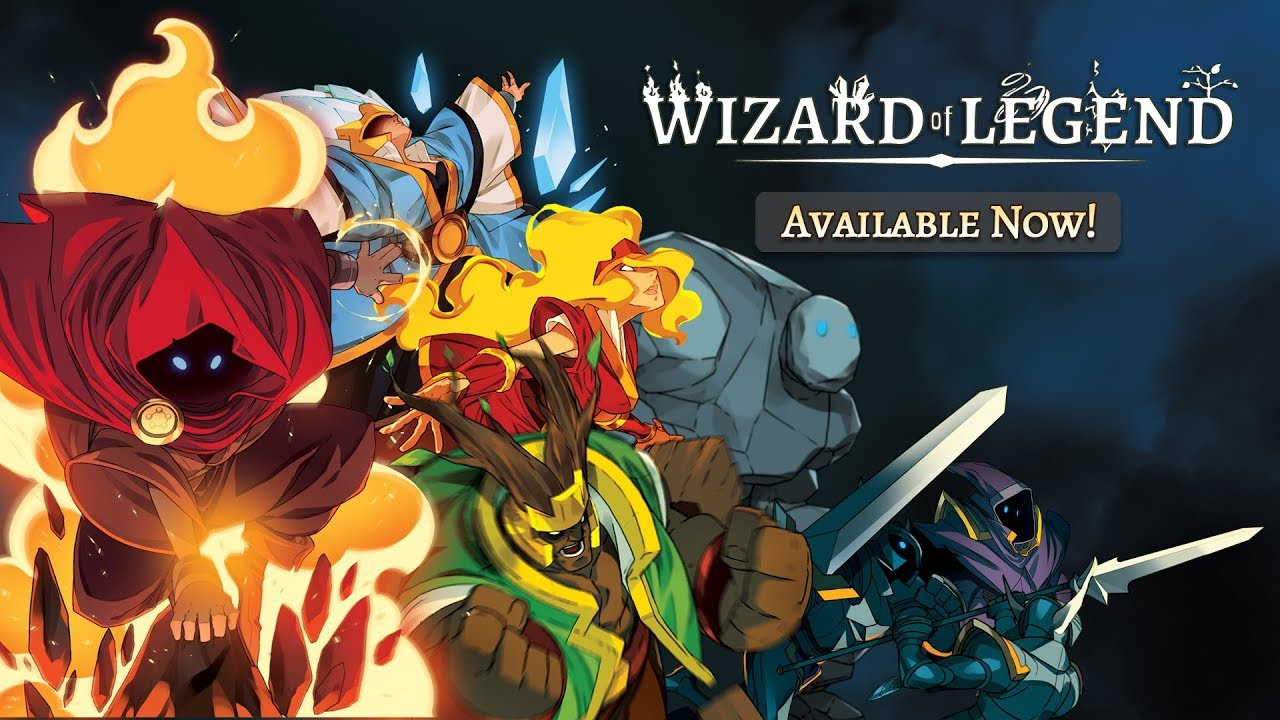 Wizard of Legend - Magical Spell Slinging Combat