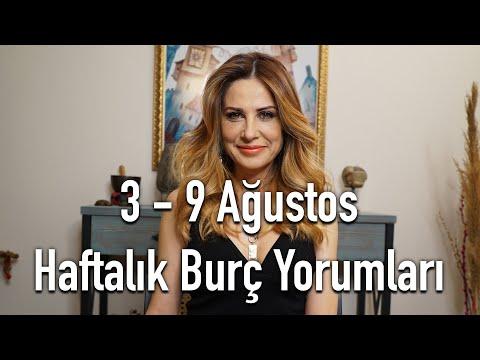 3 - 9 Ağustos Haftalık Burç Yorumları - Hande Kazanova ile Astroloji