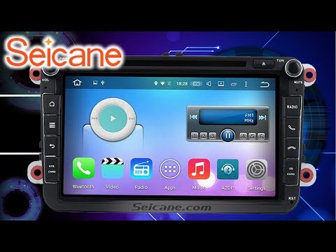 Hardware | Einbau | Seicane 8 Zoll Android 6.0 OEM Autoradio GPS Navigation Stereo