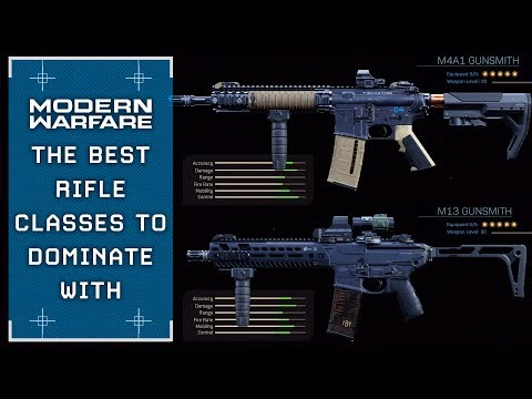 Modern Warfare: The Rifle Classes That Will DOMINATE Your Enemies (COD:MW Beta)