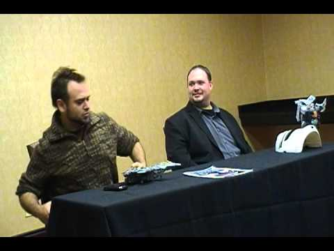 Slagacon 2013 Voice Actors Panel with Daniel Ross and Jon Bailey