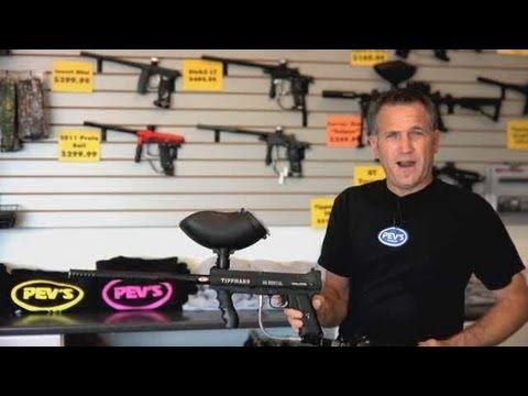 How to Use a Paintball Gun aka Marker   Paintball