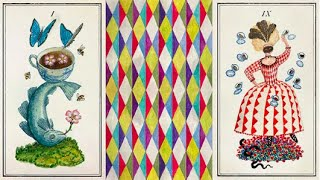 The Carnival at The End of The World    Fine Art Edition v Playing Cards: Cardstock Close Up