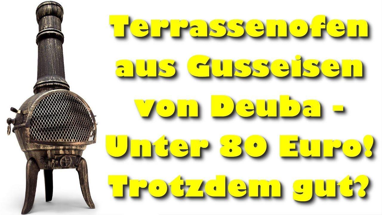 Terrassenofen aus Gusseisen von Deuba   Unter 20 Euro Trotzdem gut