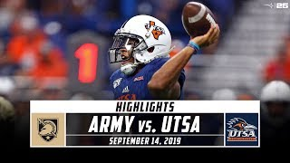 Utsa was held to just 260 yards of total offense in a 31-13 loss army. check out the highlights roadrunners tough week 3 loss. stadium keeps you co...