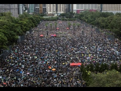 "Breaking ""1.7 Million Hong Kong Peaceful Protestors Hold Massive Rally For Freedom"""