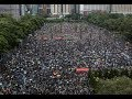 """Breaking """"1.7 Million Hong Kong Peaceful Protestors Hold Massive Rally For Freedom"""""""