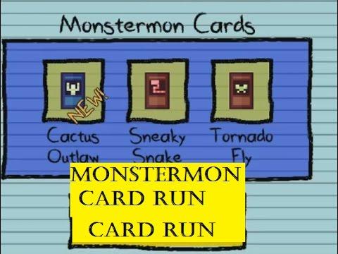 Kindergarten Monstermon Cards Run 1 | Gotta collect them all! | Gameplay Walkthrough