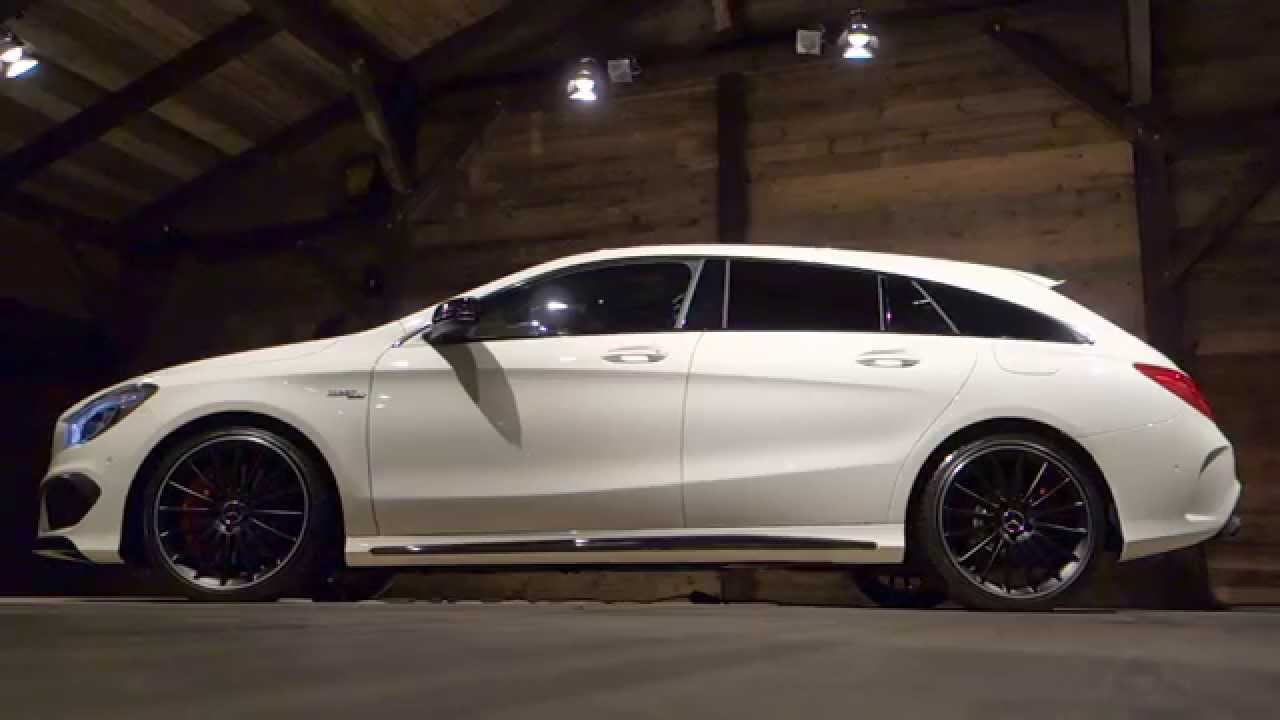 vid o mercedes benz cla shooting brake en d tails l 39 argus youtube. Black Bedroom Furniture Sets. Home Design Ideas