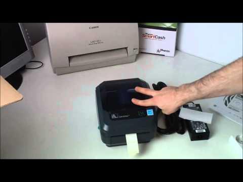 Unboxing imprimanta de etichete termice Zebra GK420D