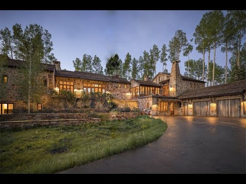 Hand-Crafted Stone Estate in Telluride, Colorado  | Sotheby's International Realty