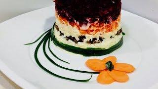 """🌶 Салат """"Любимый""""🌶 Удивите себя и своих гостей загадочным вкусом салата!"""