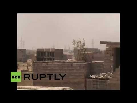 LIVE from battlefield in Fallujah as intense fighting continues