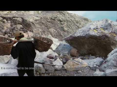Sulphur Miners of Kawah Ijen