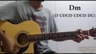 Saajna (I Me Aur Main) - Guitar Chords Lesson+Cover, Strumming Pattern, Progressions