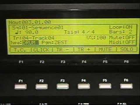 Akai mpc2500 direct record demo