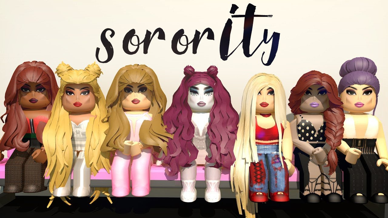 GOOD GIRLS SORORITY! Will they accept me? Roblox