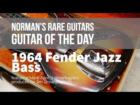 Guitar of the Day: 1964 Fender Jazz Bass Sunburst | Norman's Rare Guitars