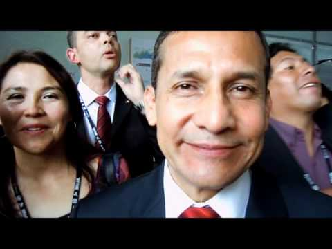 Rio+20: 10 seconds with President of Peru Ollanta Humala
