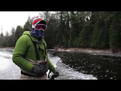 Fall Michigan Au Sable River Streamer Fly Fishing Trip | Vacancy