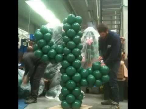 Figura con globos  YouTube