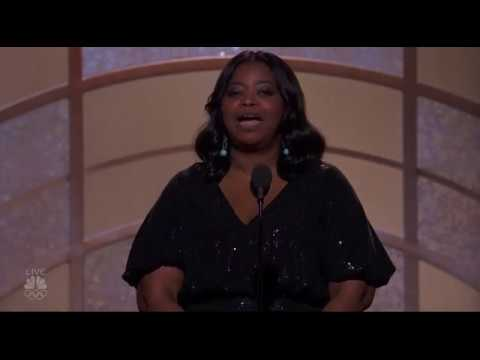 Octavia Spencer introduces The Shape of Water at the Golden Globe Awards streaming vf
