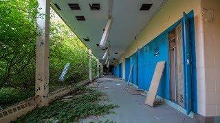 Notorious ABANDONED Modern Detroit High School