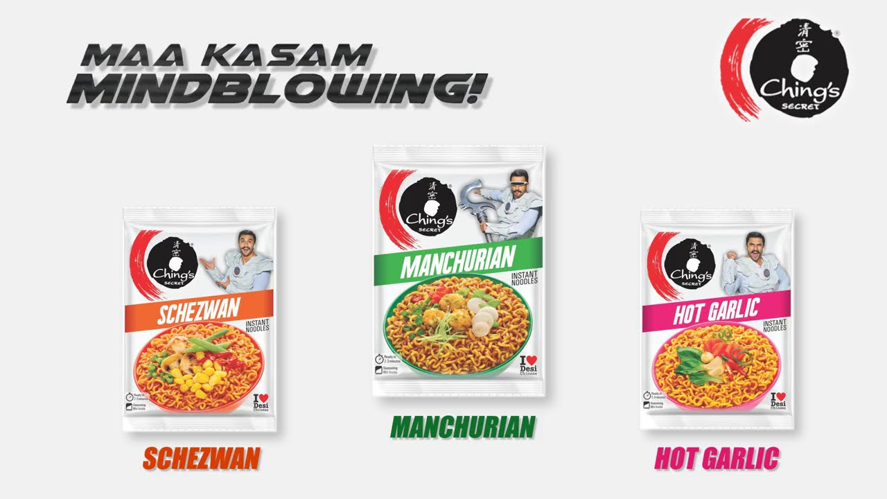 Ching's Manchurian Instant Noodles Ft.Ranveer Singh | Maa Kasam Mindblowing | Ching's Secret