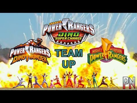 Power Rangers Dino Charge Team-Up - Opening Version 1