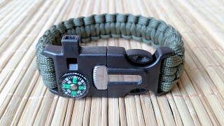 Gearbest Unboxing: 5 in 1 Outdoor Survival Paracord Bracelet