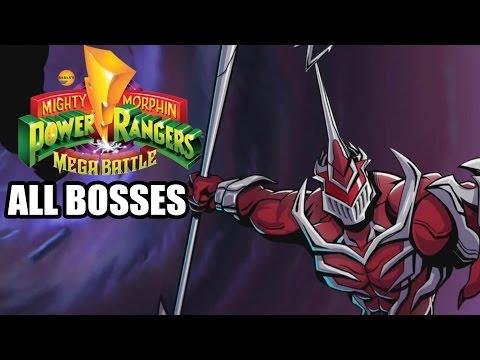 Mighty Morphin Power Rangers: Mega Battle - All Bosses