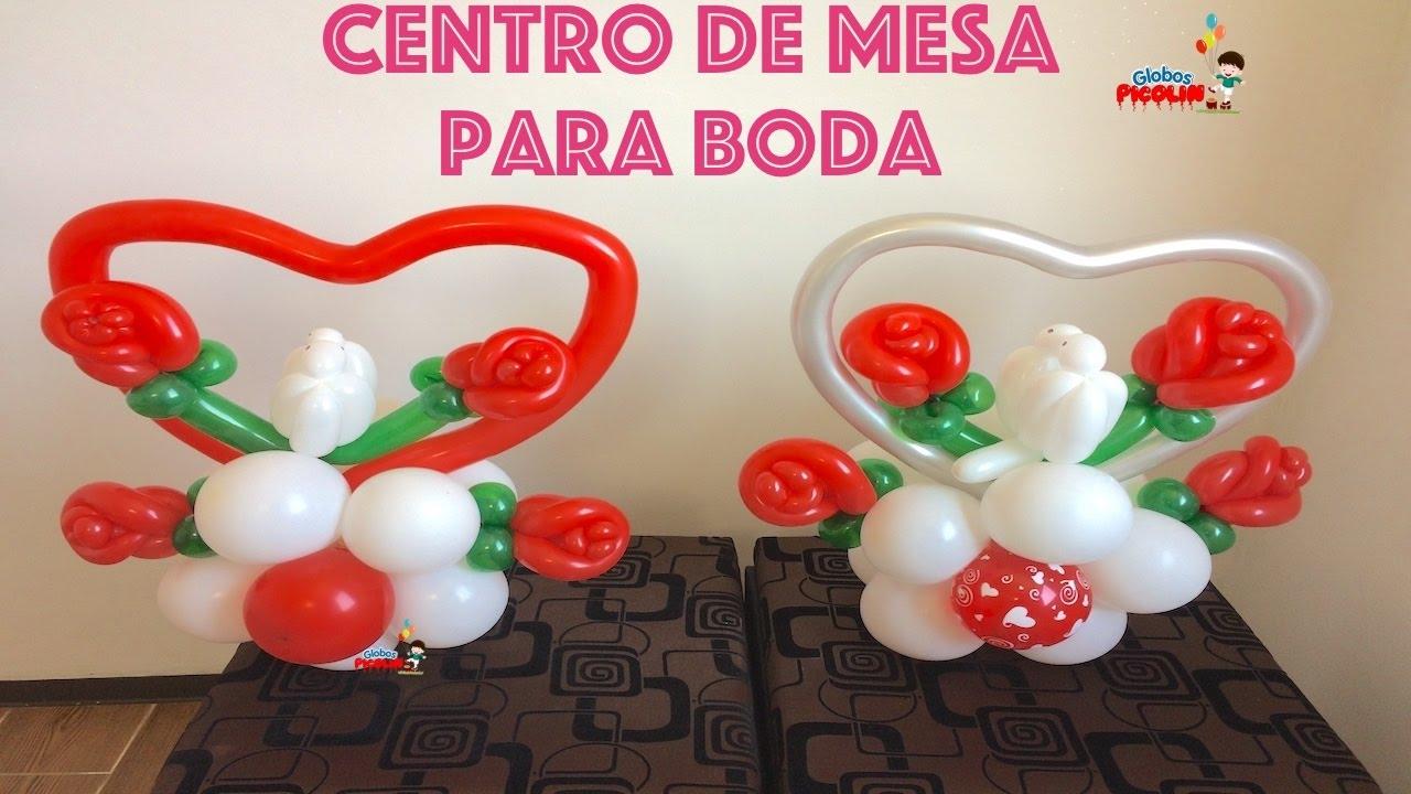 Centro de mesa para boda facil y economico 104 youtube for Centros de mesa faciles de hacer