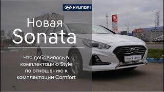 Новая Hyundai Sonata 2017 года Комплектация Style
