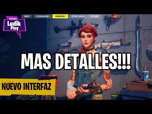 EPIC DA MÁS DETALLES DEL NUEVO INTERFAZ! | FORTNITE SALVAR EL MUNDO | Noticias español