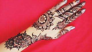 Easy Mehndi Art with Peacock - Shimmi